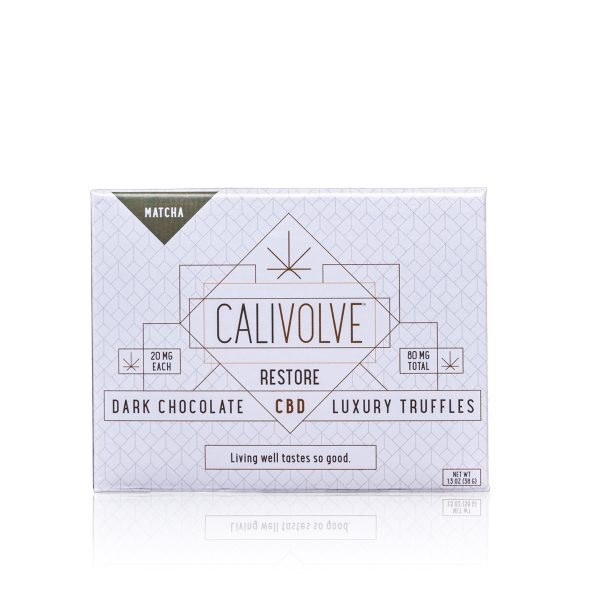 Calivolve Matcha Chocolate Truffles