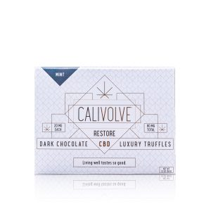 Calivolve Mint Chocolate Truffles