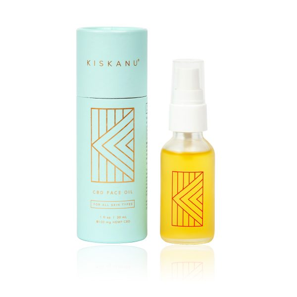 Kiskanu Face Oil with packaging