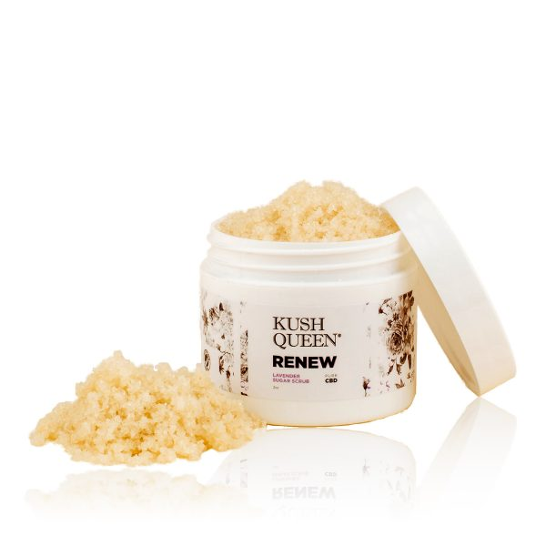 Kush Queen Renew Sugar Scrub