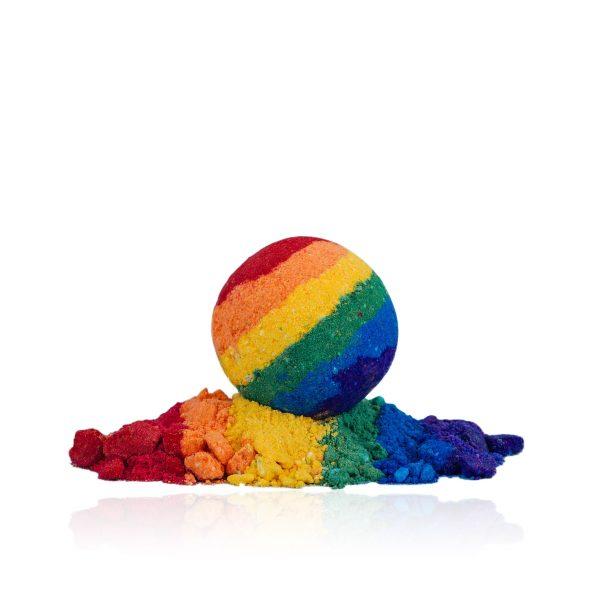 Pride CBD Bath Bomb by Kush Queen