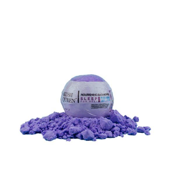 Sleep CBD Bath Bomb by Kush Queen