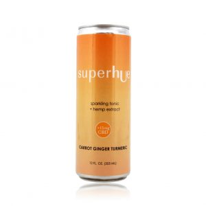 superhUe carrot ginger turmeric elixir