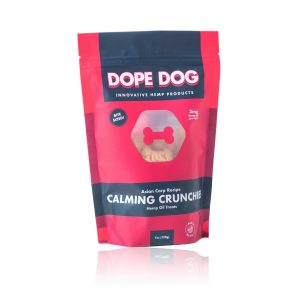Dope Dog CBD Calming Crunchies Asian Carp 3mg