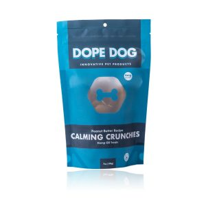 Dope Dog CBD Calming Crunchies Peanut Butter 6mg