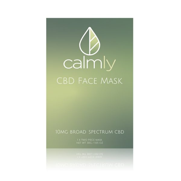 Calmly CBD Mask 4-pack