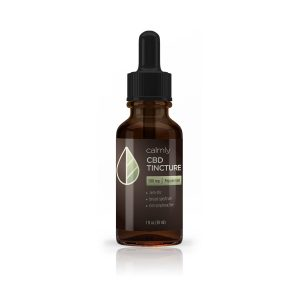 Calmly CBD 500mg Peppermint Tincture