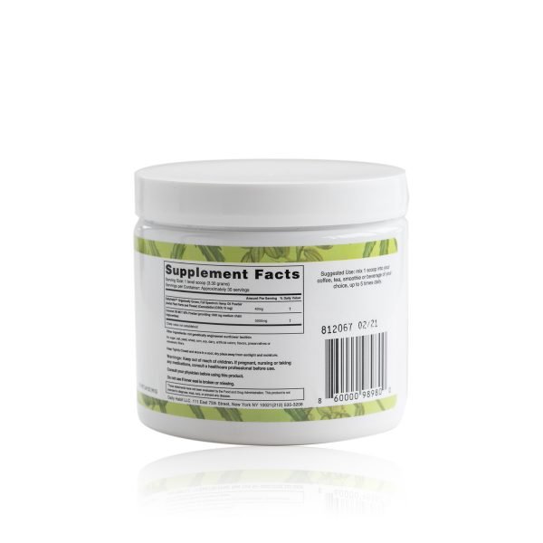 Daily Habit CBD Powder Ingredients