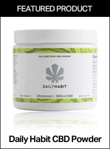 Daily Habit CBD Powder