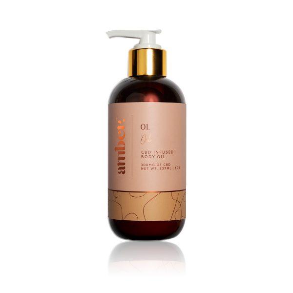 Amber 01 CBD infused body oil