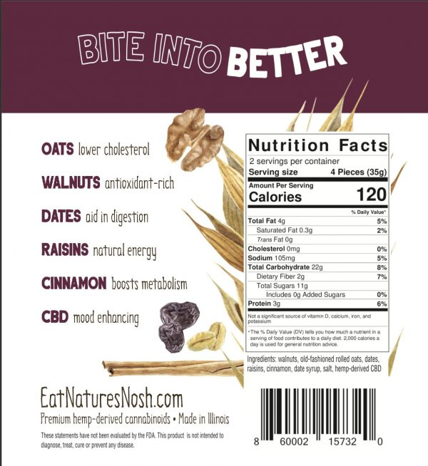 Oatmeal Risin nutrition facts