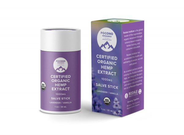 Pocono Organics Lavender Salve