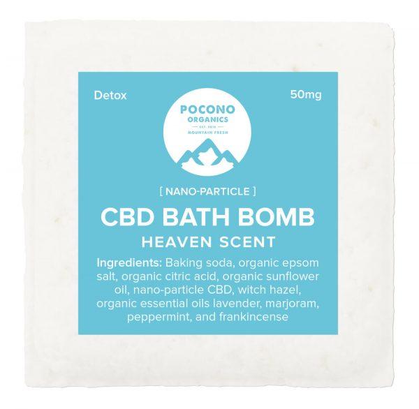 Pocono Organics Bath Bomb Detox