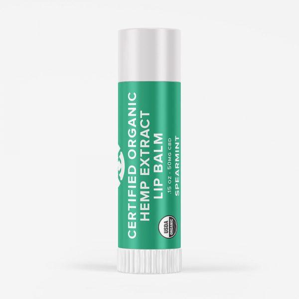 Pocono Organics Spearmint Lip Balm